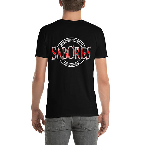 Sabores Og  Back Short-Sleeve Unisex T-Shirt