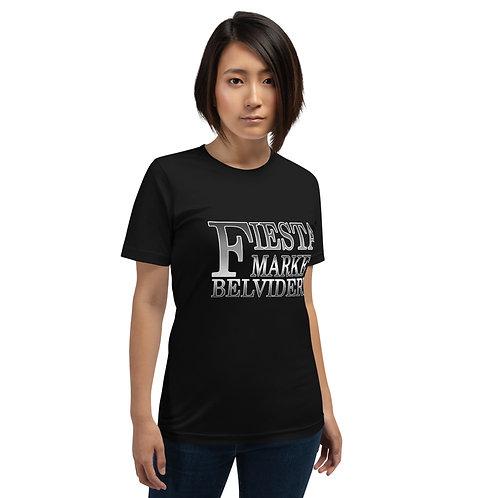 Fiesta Market B&W Short-Sleeve Unisex T-Shirt