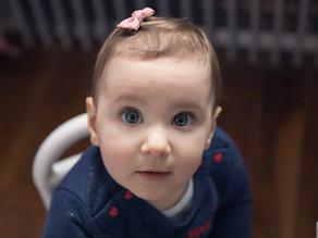 Séance photo lifestyle pour les 1 an de bébé Valentine