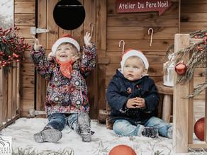 Séance photo de Noël en extérieur (Partie 1/3)