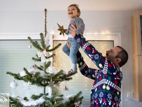 Séance photo de Noël en intérieur (lifestyle) Partie 3/3