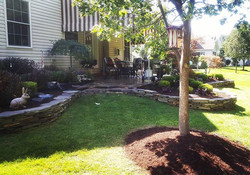 Complete clean-up, Natural Brown Mulch