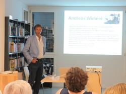 Autorenlesung Andreas Widmer
