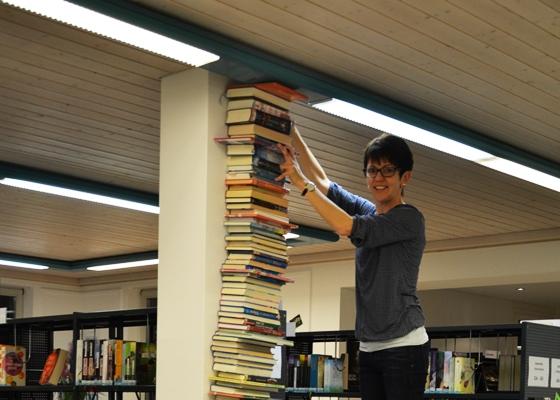 Nacht in der Bibliothek