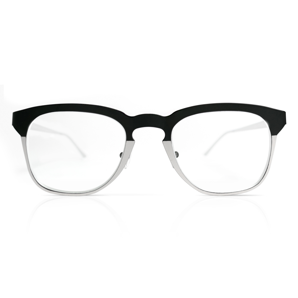 Oval Brille