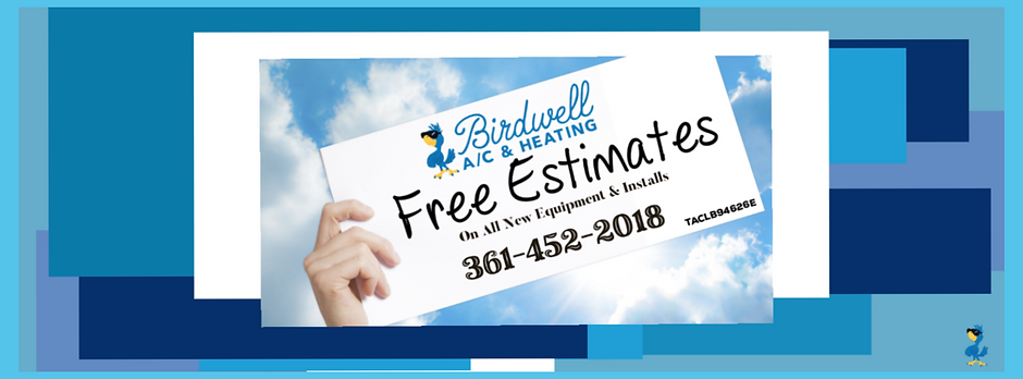 Air conditioning and heating repairs and replacements by Birdwell A/C and Heating in Corpus Christi.