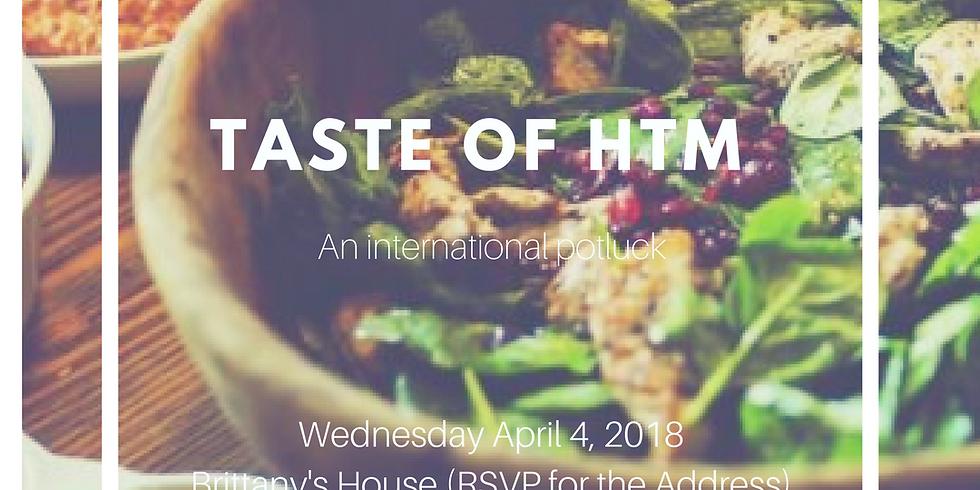 Taste of HTM: International Potluck