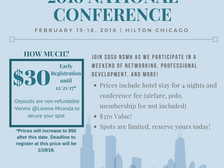 2018 National Conference Information