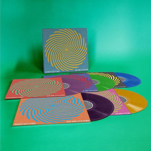 Sufjan Stevens - Convocations (5LP box - Green, Blue, Orange, Deep Purple vinyl)