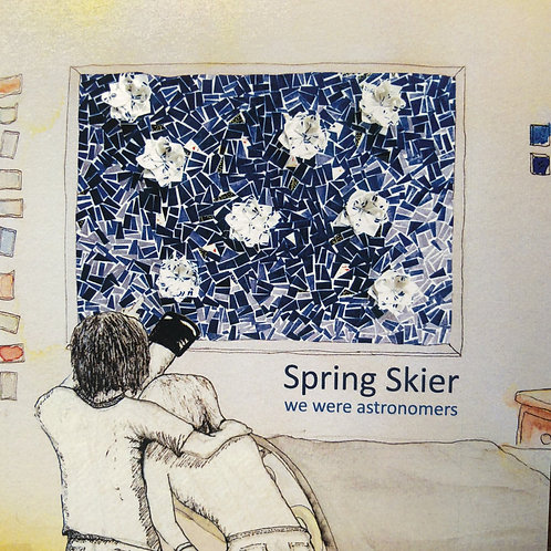 Spring Skier - We Were Astronomers (Limited Edition Blue Vinyl)