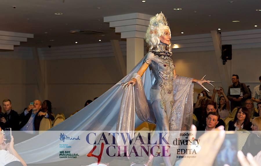 Silver Queen catwalk