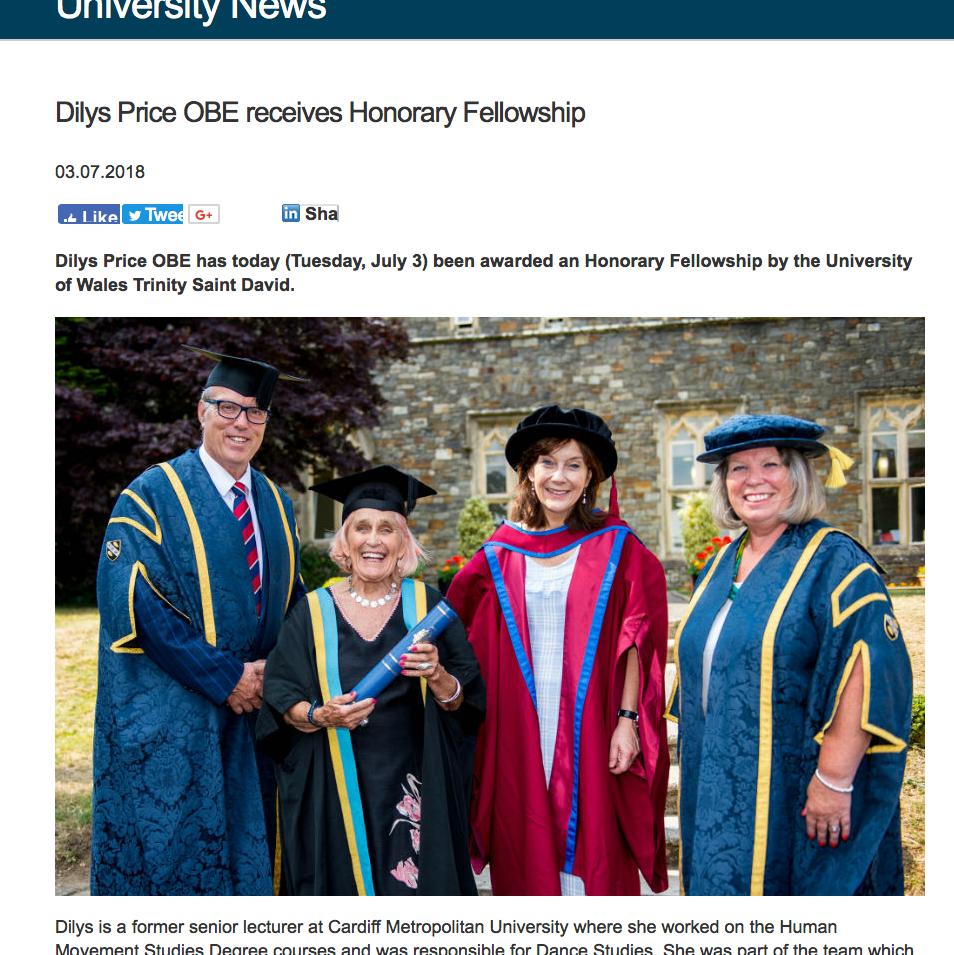 Honorary Fellowship