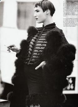 Jean Paul Gaultier. Grand Palais by Peter Lindbergh. Vogue