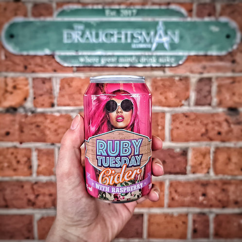 Abrahalls - Ruby Tuesday Raspberry Cider 4%