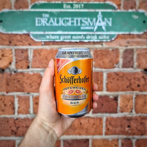 Schofferhofer - Grapefruit Hefeweizen 2.5%