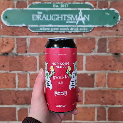 Gweilo Beer - Hop Kong - NEIPA - 4.9%