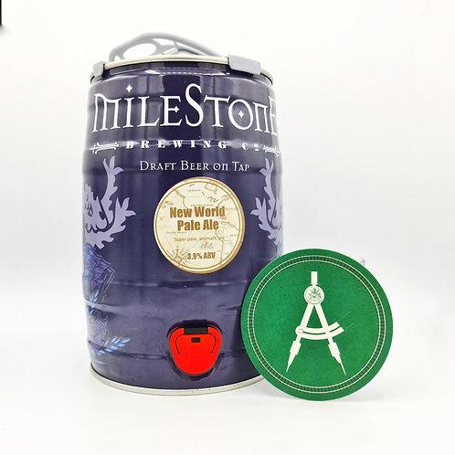Milestone Brewery - New World - Pale Ale - 3.9%
