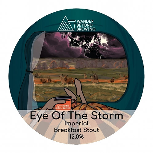 Wander Beyond - Eye of the Storm - 12% - Imperial Breakfast Stout - 4 Pints