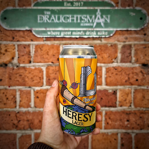 Abbeydale Brewery - Heresy - Lager - 4.5%