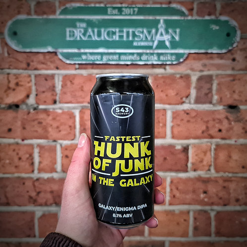 S43 Brewing - Fastest Hunk Of Junk In the Galaxy - DIPA - 8.1%