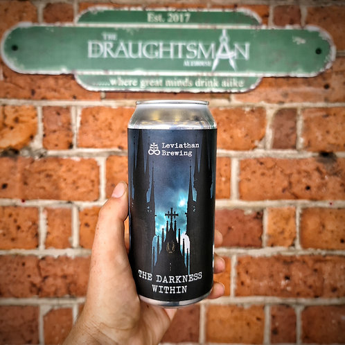 Leviathan Brewing - The Darkness Within - Black IPA - 6.2%