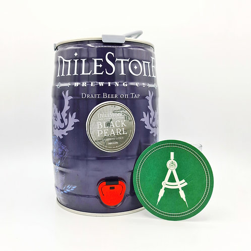 Milestone Brewery - Black Pearl - Irish Stout - 4.3%