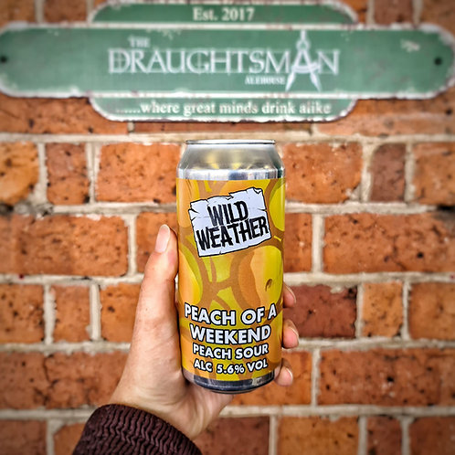 Wild Weather - Peach of a Weekend - Peach Sour 5.6%