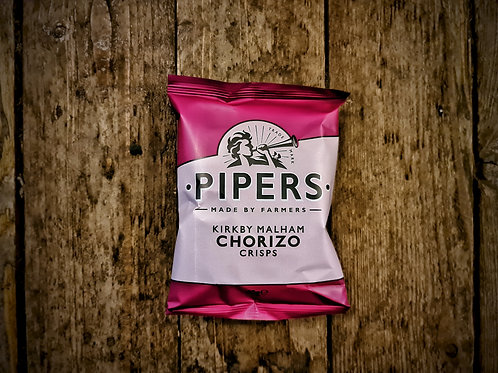 Pipers Kirkby Malham Chorizo Crisps 40g