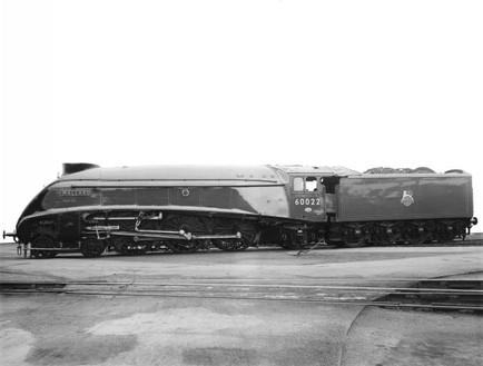 British Railways 4-6-2 Class A4 No 60022 Mallard, 1951