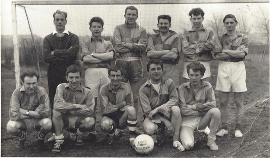 Fourth from the left, top row: Barry Melvin Godfrey Thompson
