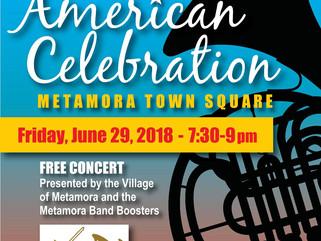 "June 2018 Concert:""American Celebration"""