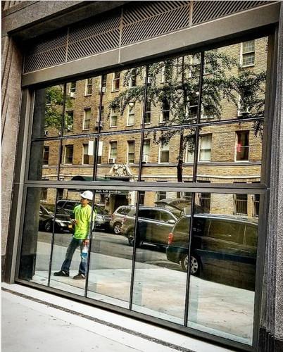 Automatic Folding Garage Glass Door