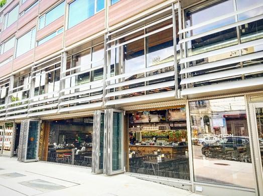 Folding Glass Doors & Sunshade