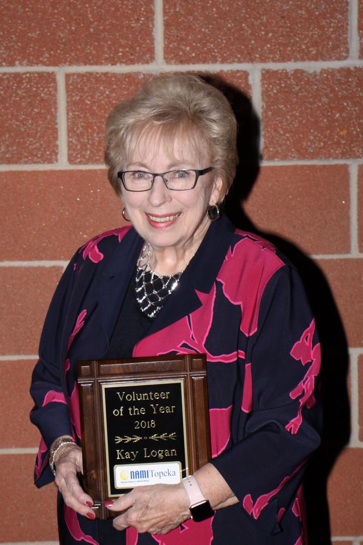 Kay Logan Volunteer of the Year