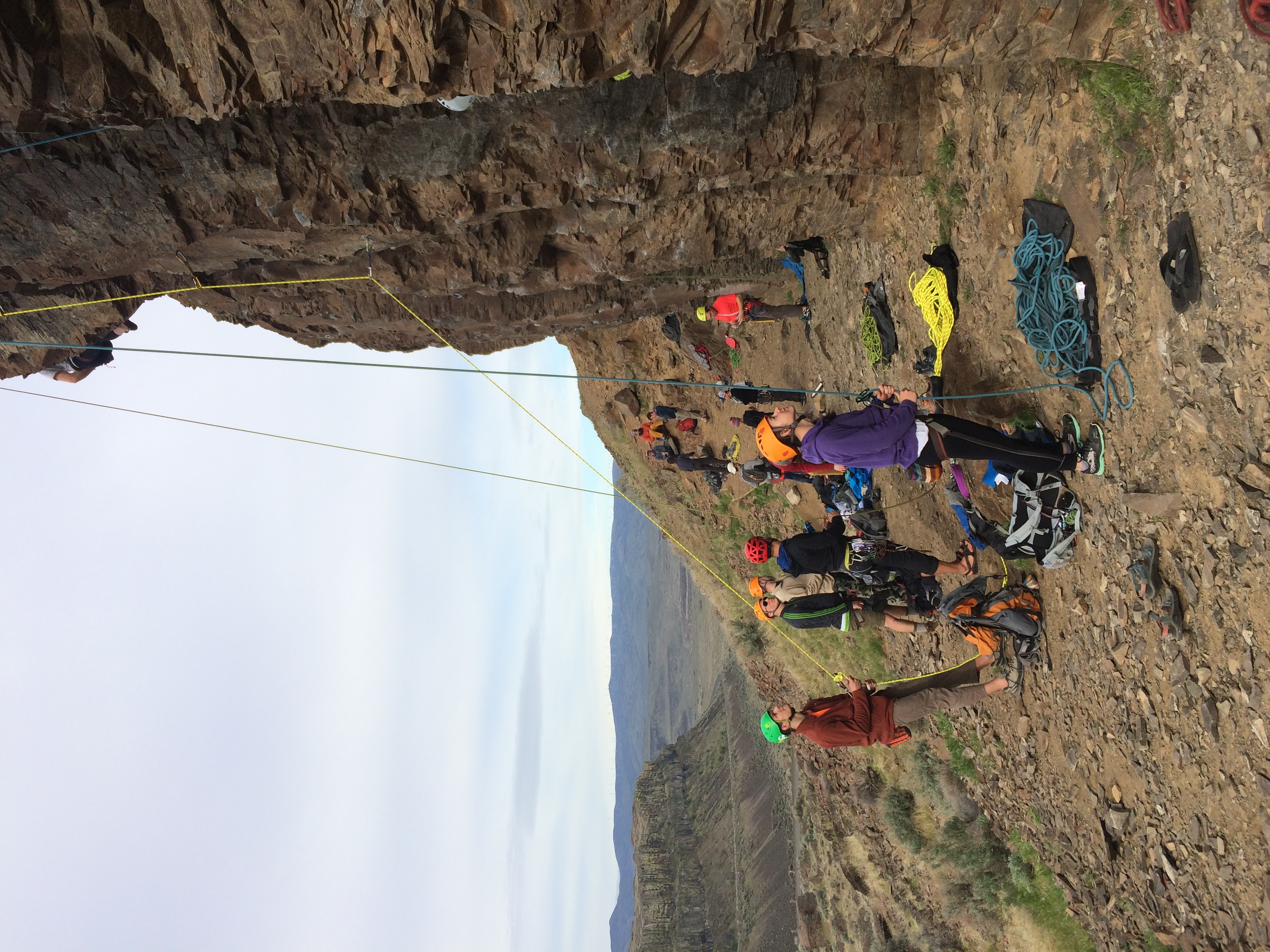 Vantage climbing