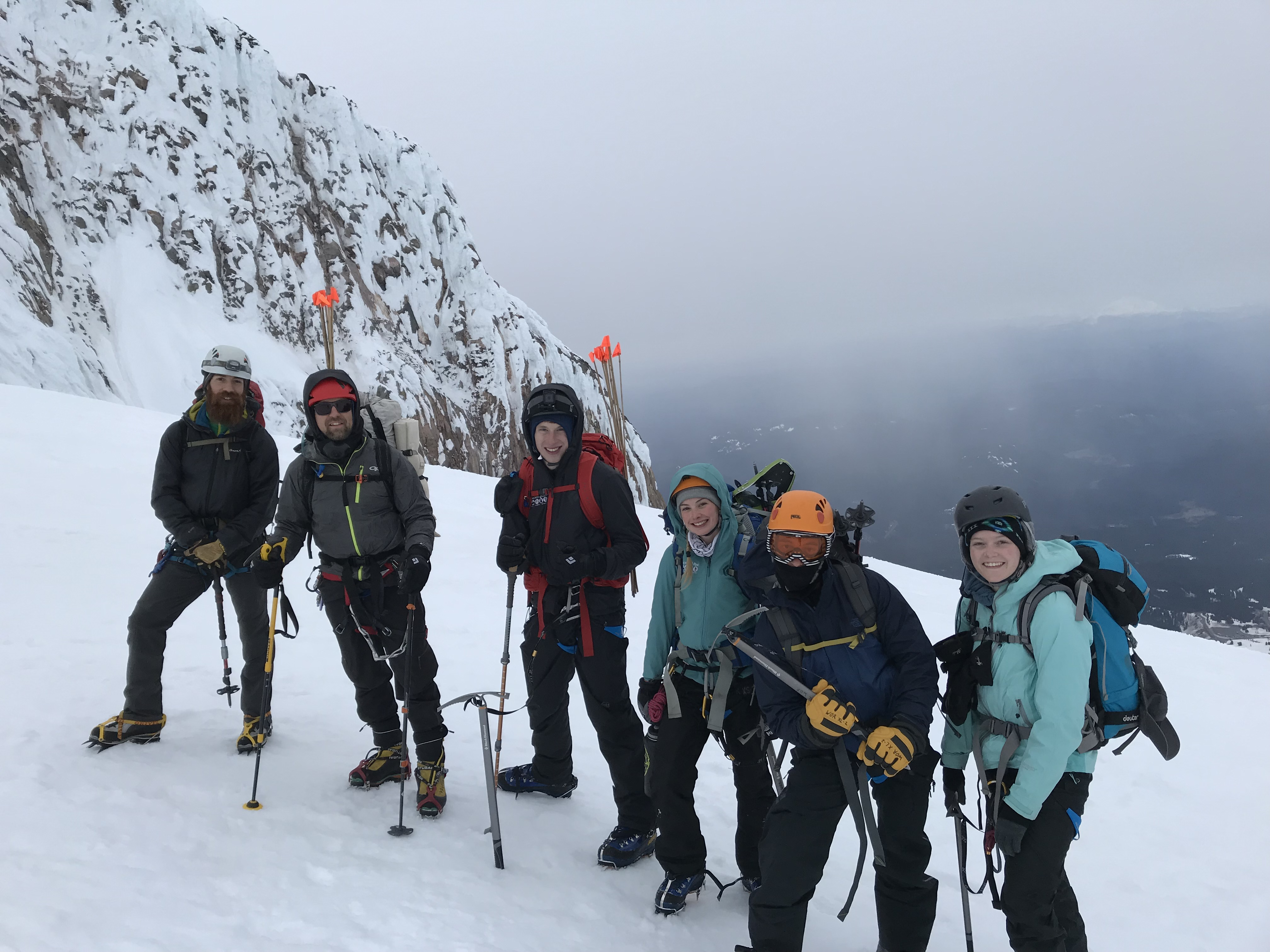 Mt. Hood Jan Term class!