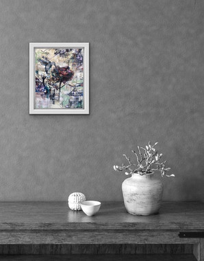 'Bloom' - Cream Frame