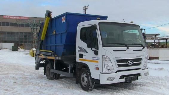Бункеровоз Hyundai EX8