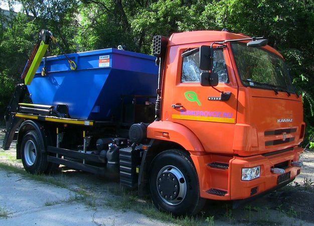 Бункеровоз КАМАЗ 43253, КАМАЗ 43255