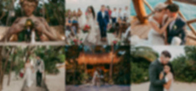 Tulum, Cancun, Cabo Wedding photography & videography
