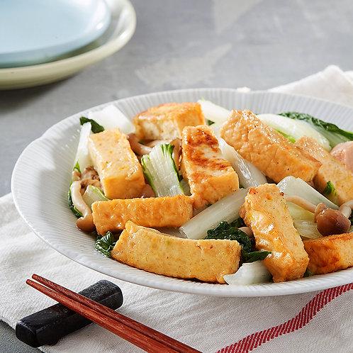 Fried Vegetable Q-Tofu Slice 300G