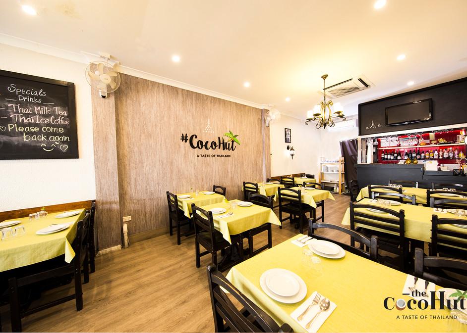 Cocohut Thai restaurant at Surfers Paradice