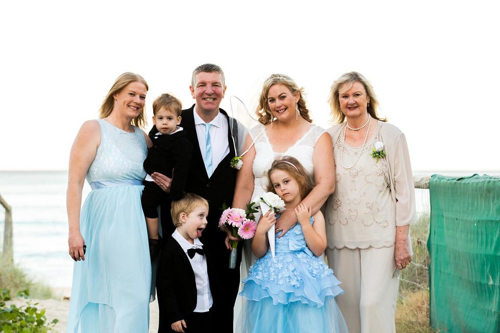 Nissa & Damian & Family