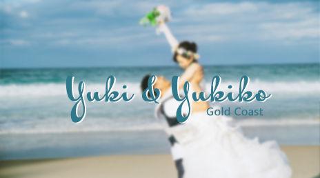 Yuki & Yukiko Wedding  Photo in Gold Coast