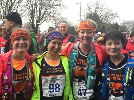 Brixham Harriers do Bideford Half- Marathon