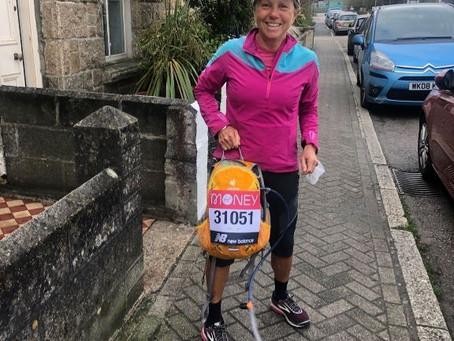 Marathon achievements from Susan and Hillary!