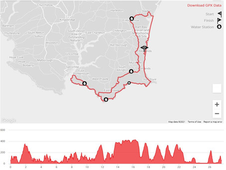 Trail Blazing Marathon from Susan
