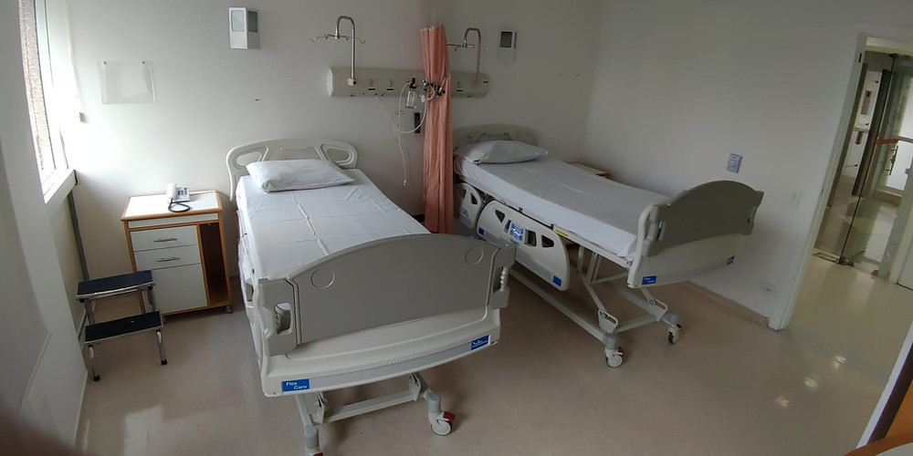 Leitos - quarto enfermaria