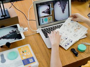行動科技到教育新創,uHandy 把平板變成「微觀實驗室」