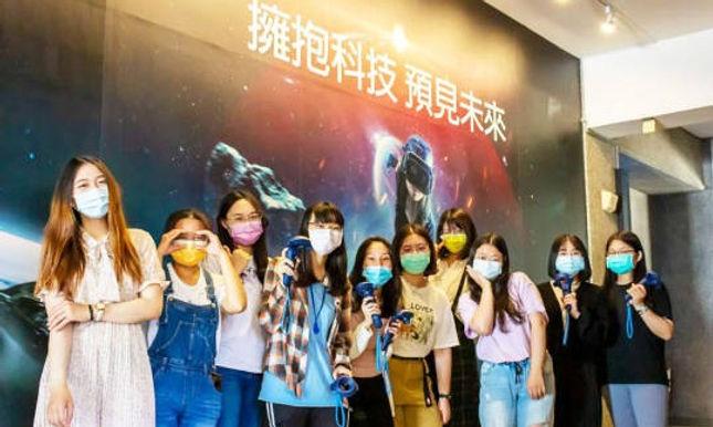 【校園超部署】中臺科大攜手H.T.C 打造「VR未來教室」